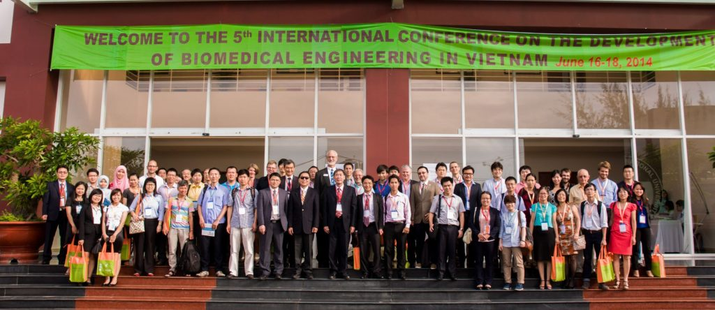 The presentors of theFifth International Conference on the Development of Biomedical Engineeri