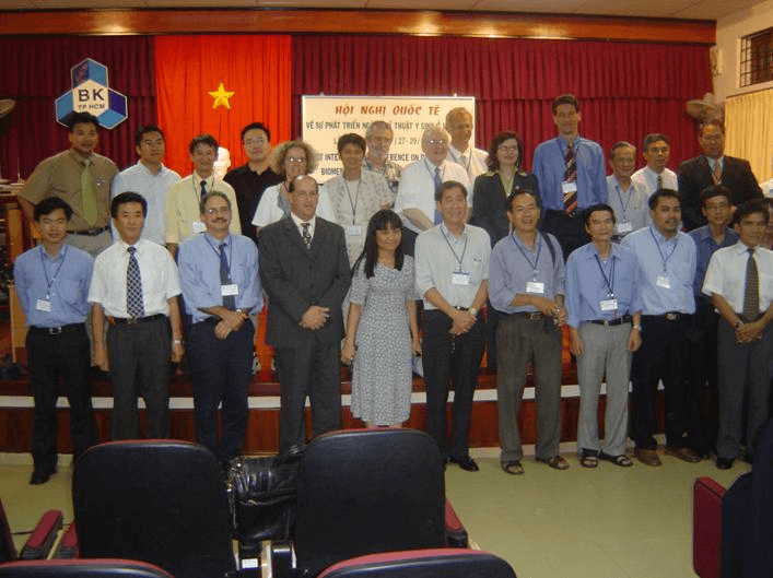 Some international delegations in the Conference