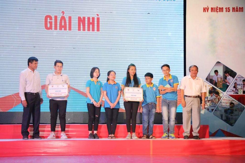 EmVõ Minh Thiên - sinh viên năm nhất Khoa Kỹ thuật Y sinh của trườngĐại học Quốc tế - ĐHQG-HCMđã xuất sắc đạt giải nhìcủacuộc thi.
